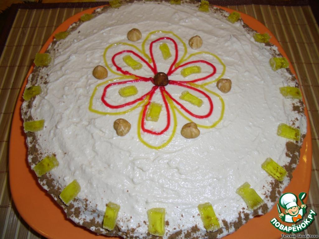 Торт с творожным кремом рецепты с пошагово