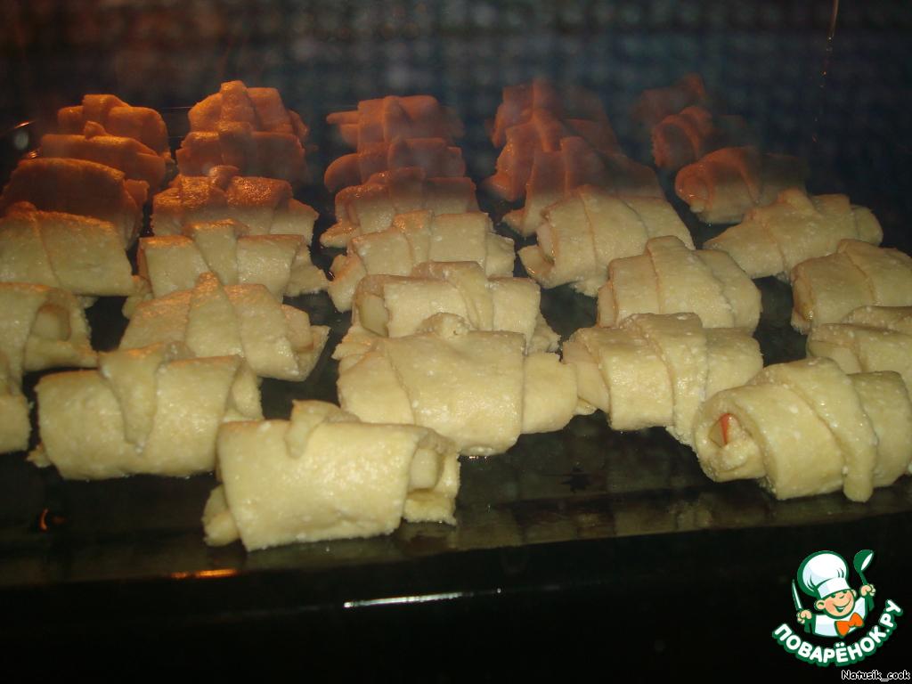 Рогалики рецепт с фото пошагово в духовке