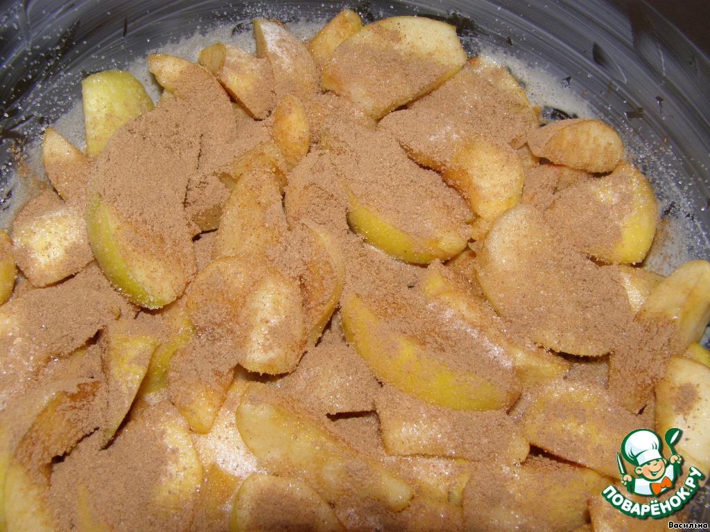 Шарлотка с яблоками, пошаговый рецепт с фото