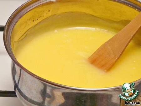 лимонный крем на молоке рецепт