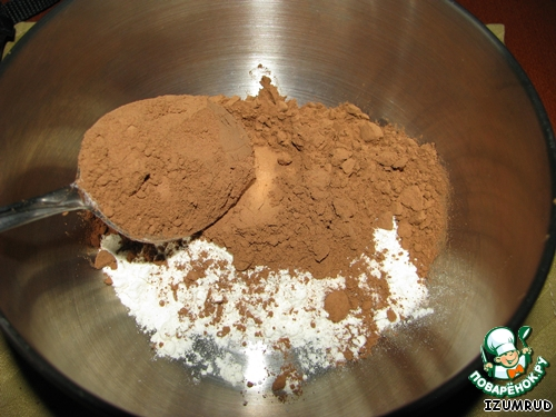 Что приготовить из муки и какао