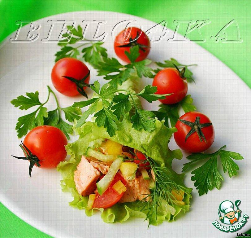 Салаты с форелью: очень вкусные рецепты приготовления с фото