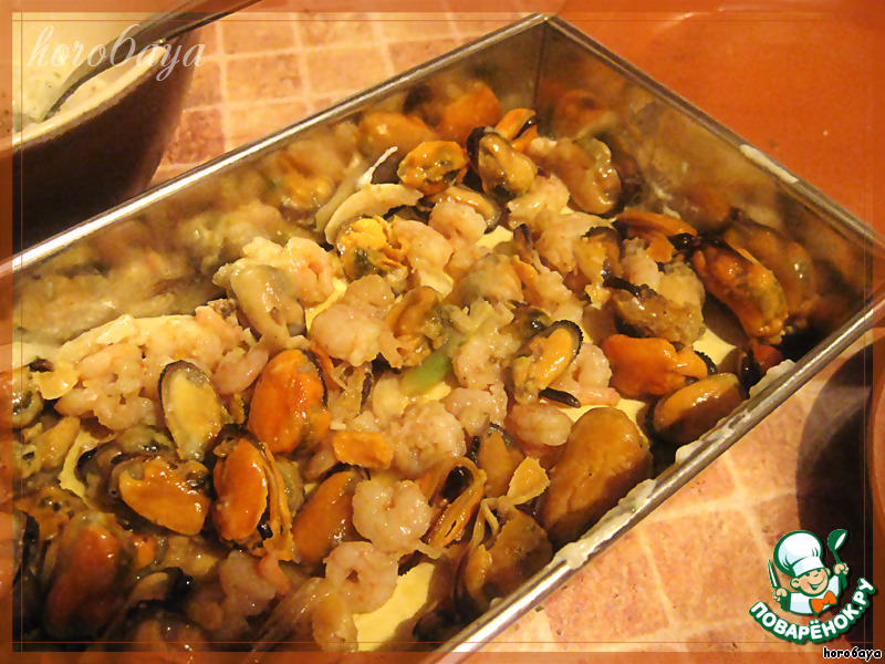 Лазанья с морепродуктами рецепт в домашних условиях