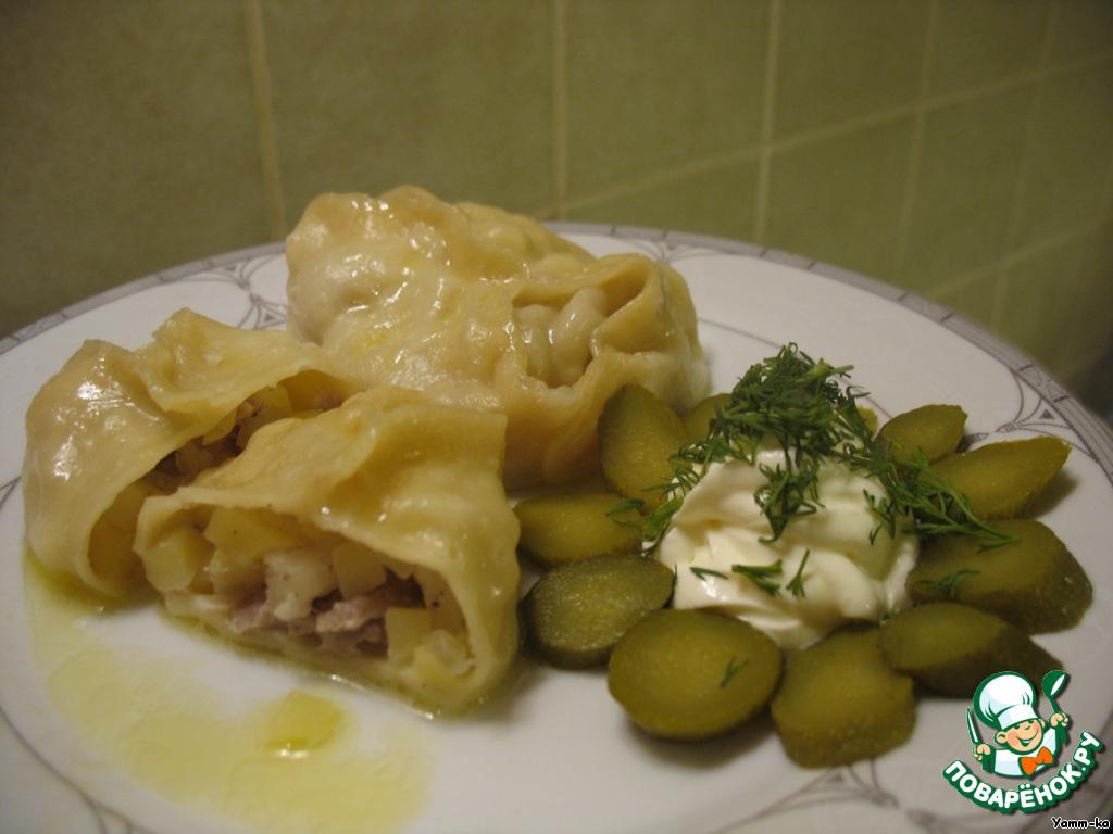Пельмени с картошкой и мясом рецепт пошаговый с фото