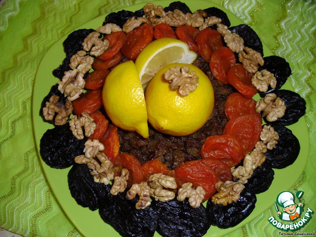 Рецепт поднятия иммунитета с грецкими орехами