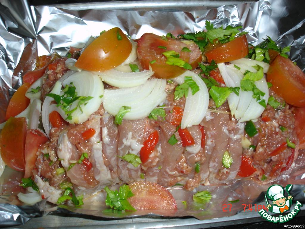 свинина фаршированная в духовке рецепты с фото