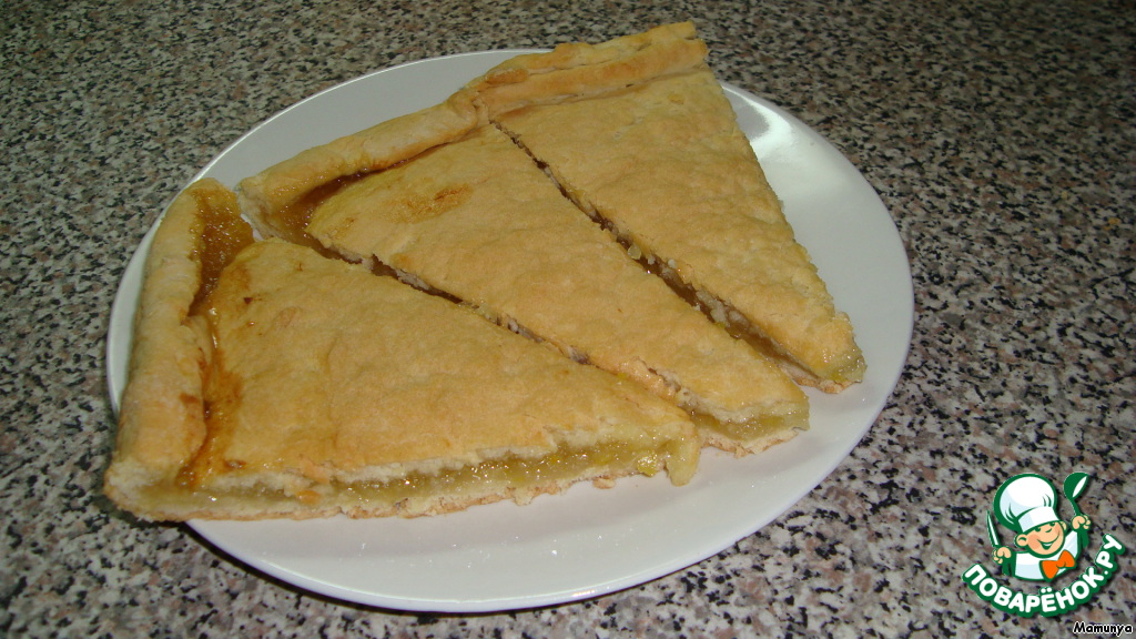 Рецепт пирога лимонника в домашних условиях 306