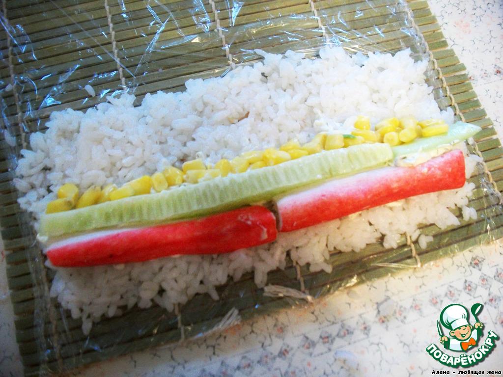 Суши без нори в домашних условиях рецепт