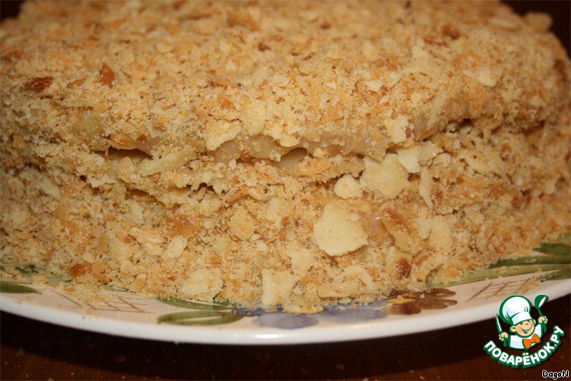 Песочный наполеон рецепт с фото