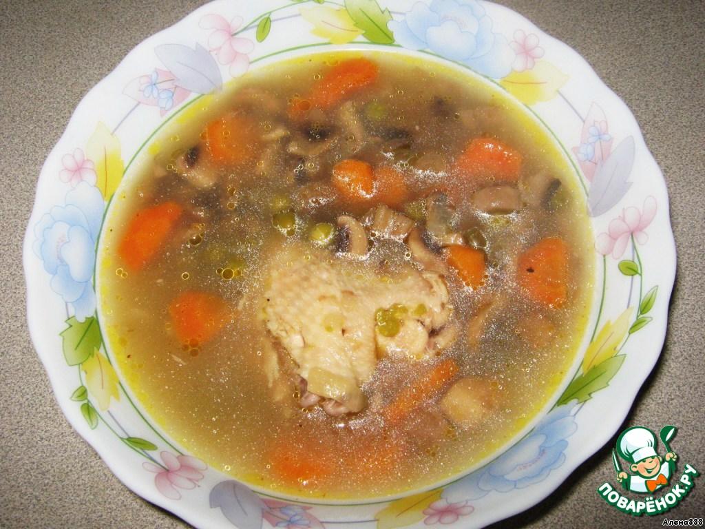 Рецепт супа из курицы без картошки