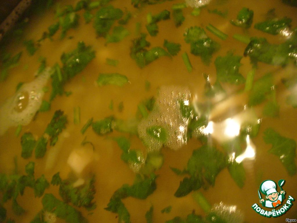постный рецепт супа пюре из