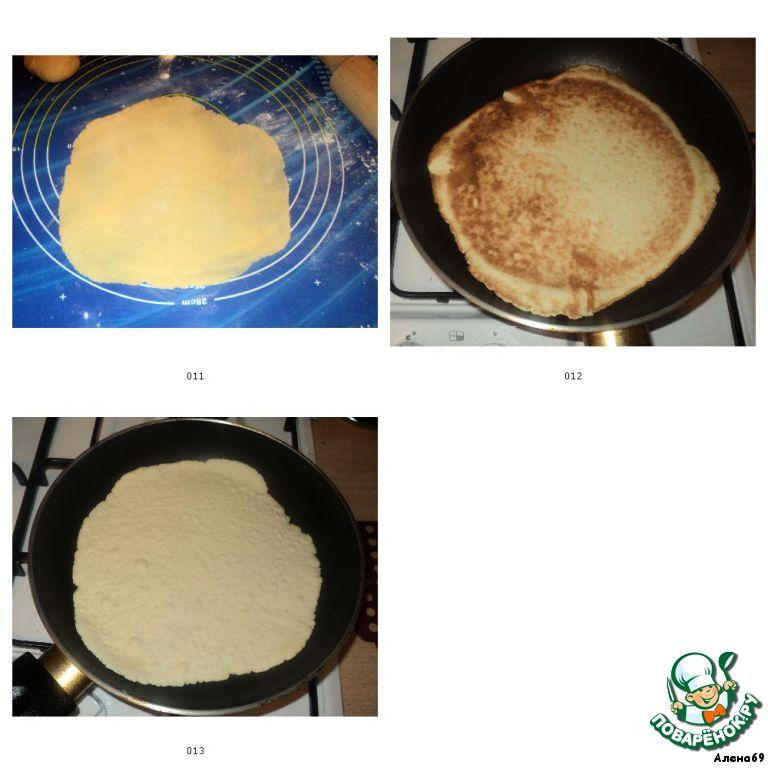 Медовый торт на сковороде пошаговый рецепт с фото