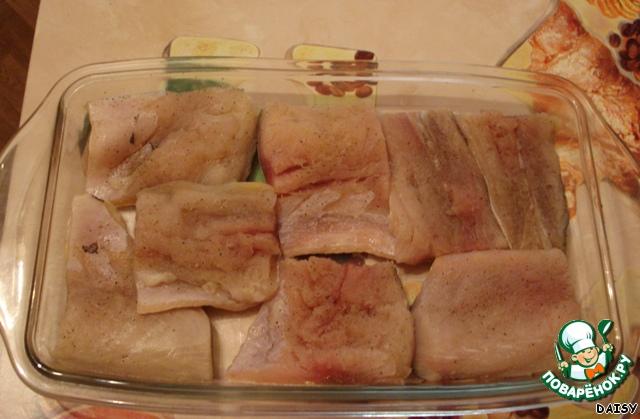 Филе трески в духовке рецепт пошагово в