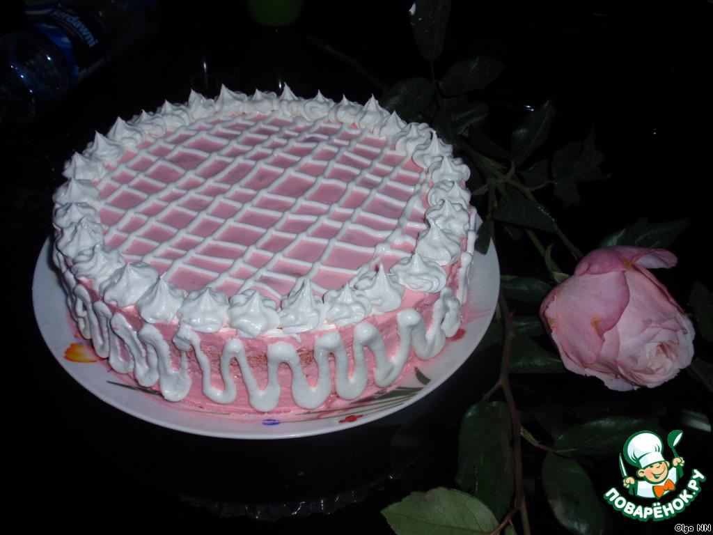Мастер класс украшение торта сливками