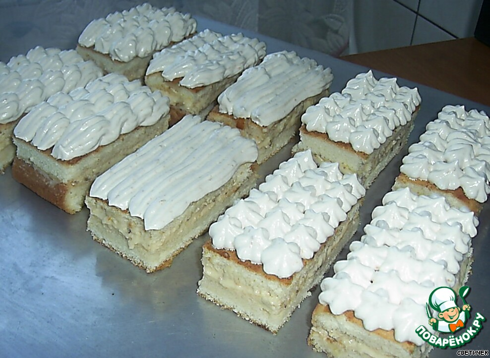 макарони пирожные фото рецепт #7