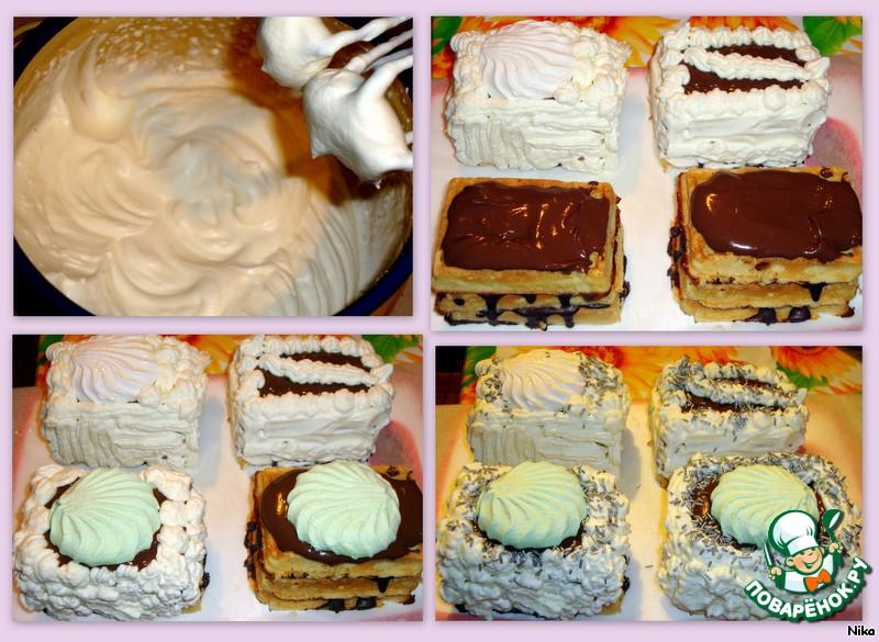 Красивое пирожное своими руками фото 48