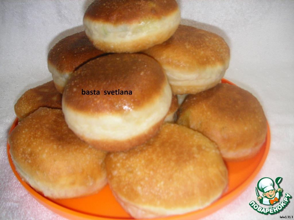 Пончики с начинкой рецепт с фото пошагово