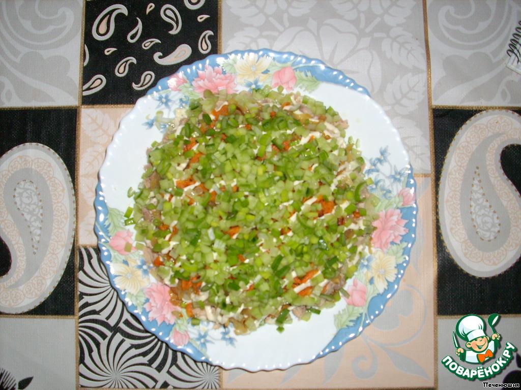 Салат нежность рецепт с пошаговым