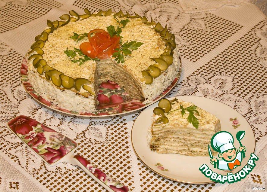 Торт из кабачков рецепты быстро и вкусно без яиц