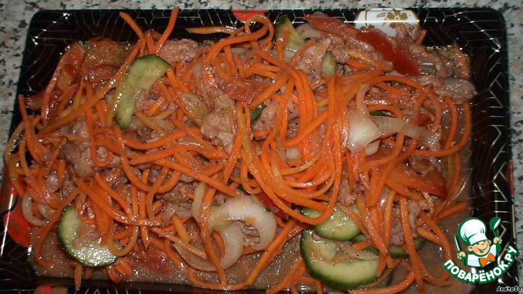 Рецепт хе из рыбы с морковью
