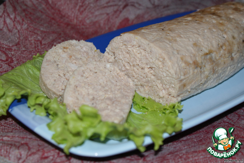Рецепты фото колбасы куриным фаршем