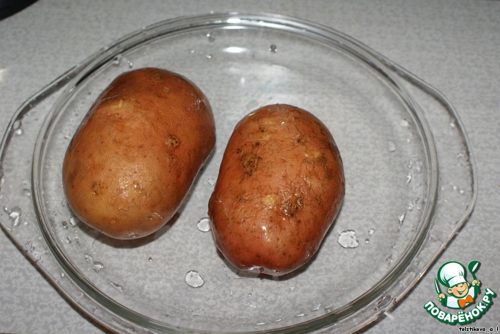 Как сделать картошку в микроволновке в домашних условиях 602