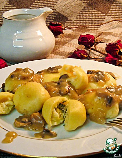 Картофельные кнели рецепт