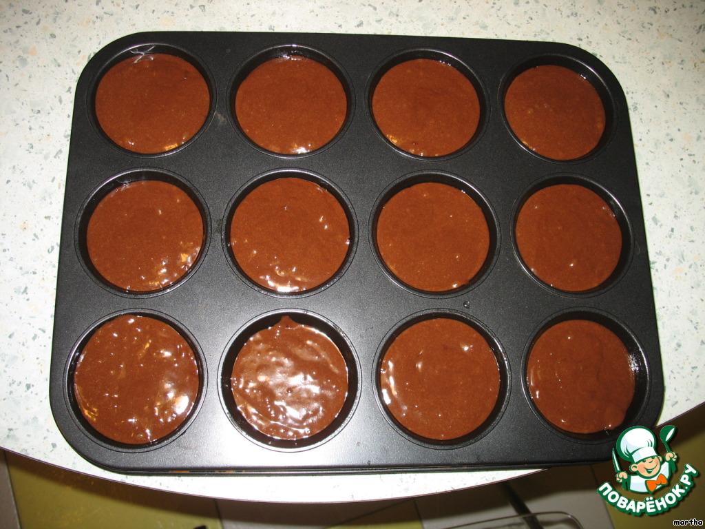 Рецепт кексов классических в формочках пошагово