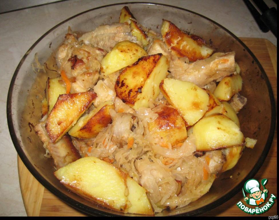 Солянка из кислой капусты рецепт пошаговый с