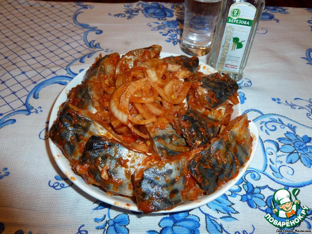 скумбрия по-корейски рецепт с фото