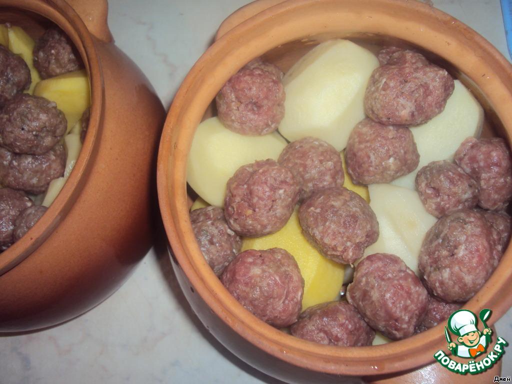картошка в горшочках в духовке рецепты с фото