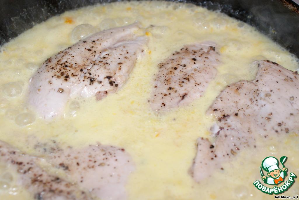 Грудка куриная с соусом рецепт пошагово