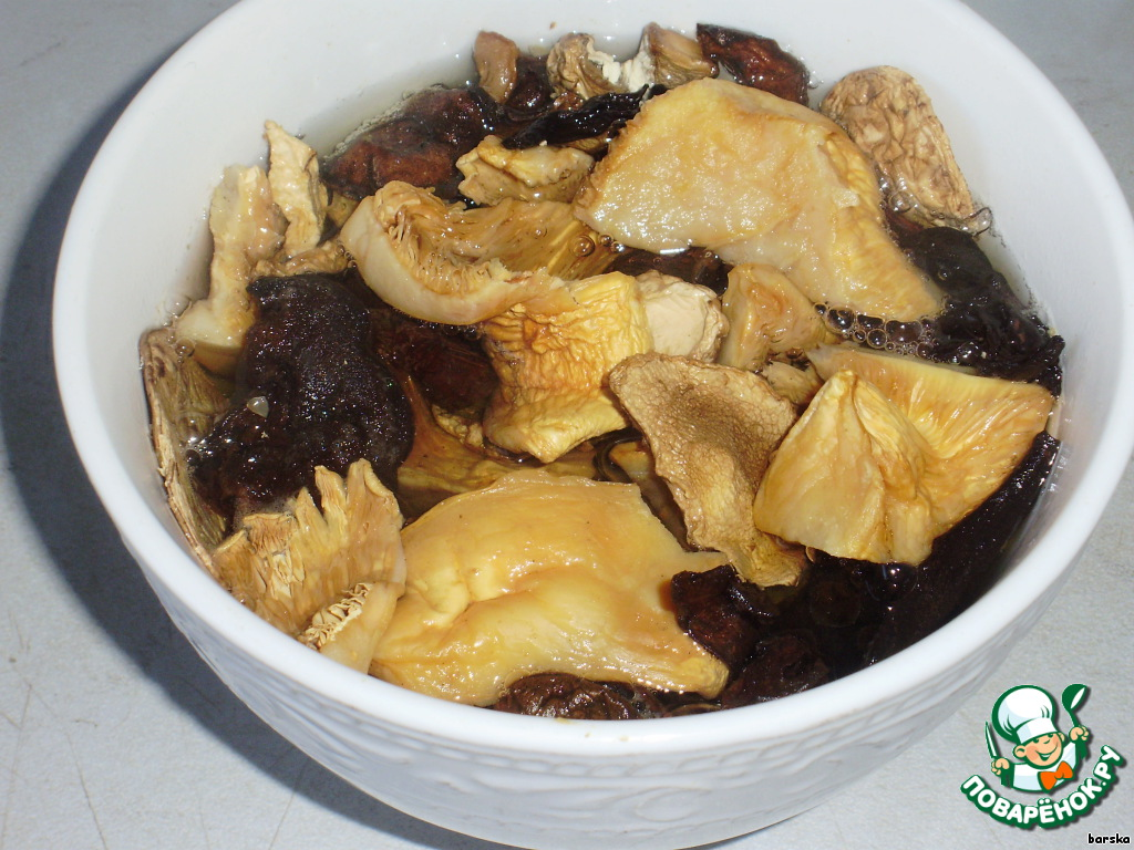 Рецепты для мультиварки пшенная каша с грибами