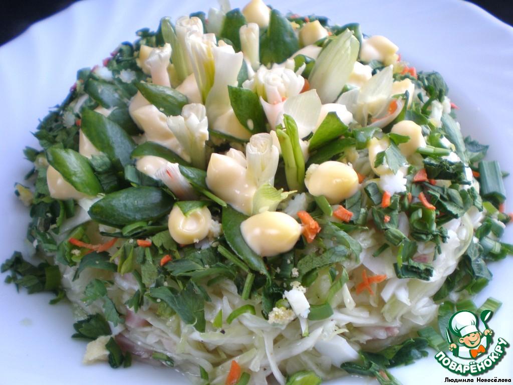 салат весенний с фото