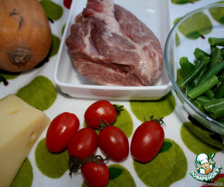 рецепт мясо и фасоль стручковая