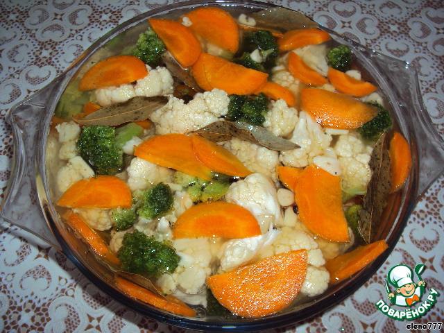 Маринованная брокколи рецепты
