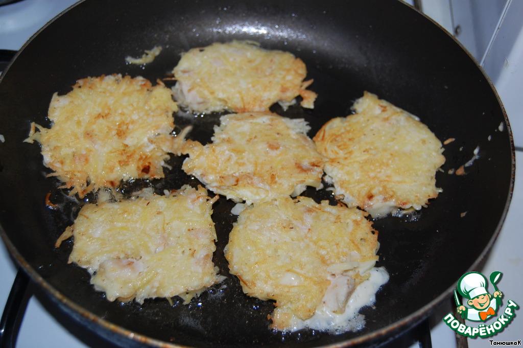 Драники с курицей рецепт с фото пошагово