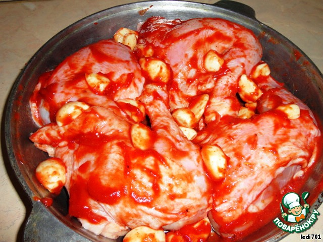 Жареная капуста с томатной пастой на сковороде рецепт 4