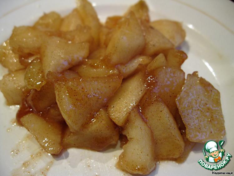 Как карамелизировать яблоки на сковороде для блинов
