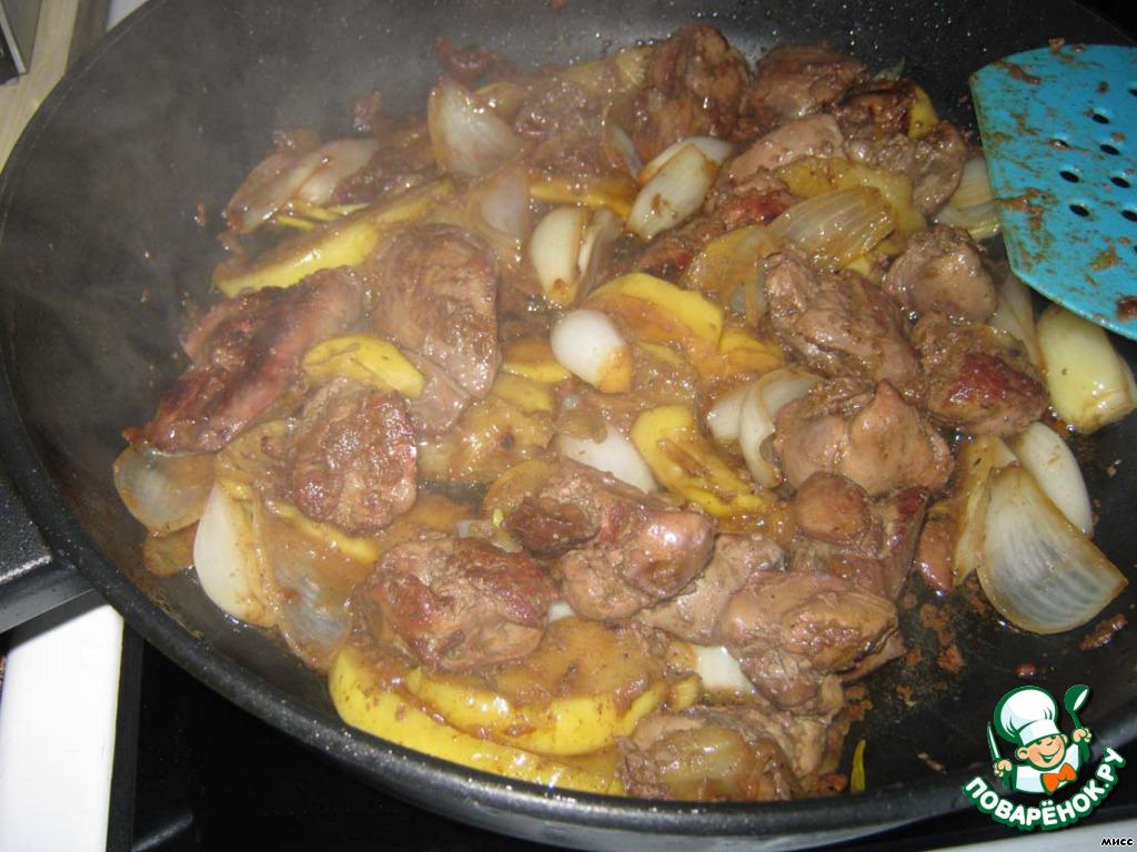 Куриная печень в духовке рецепт с пошагово