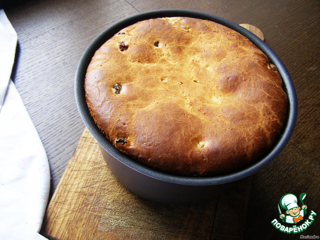 Кулич рецепт с фото пошагово в духовке