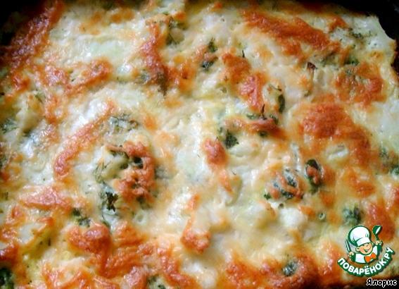 цветная капуста с сыром в духовке рецепт с фото