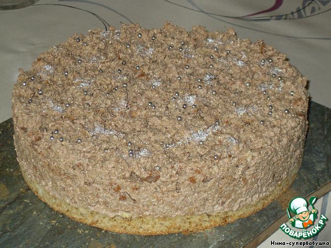 торт пища богов рецепт из журнала работница