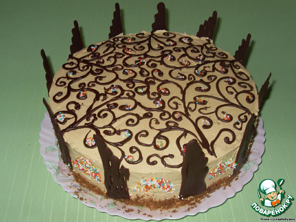 торт арабская ночь рецепт видео