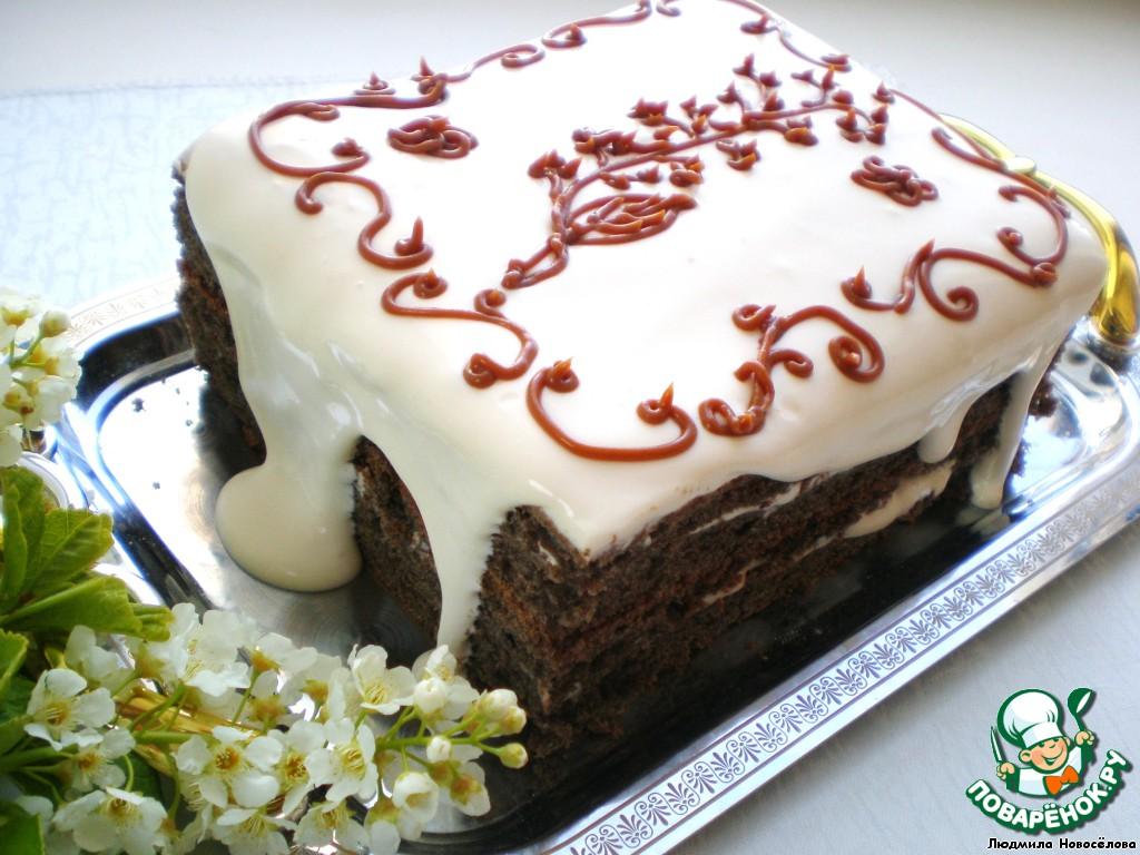 Торт черемуховый с фото
