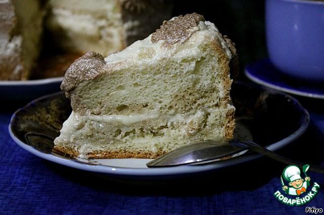 Рецепт бисквита без духовки