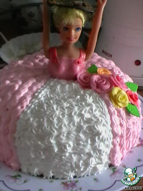торт барби ингредиенты рецепт