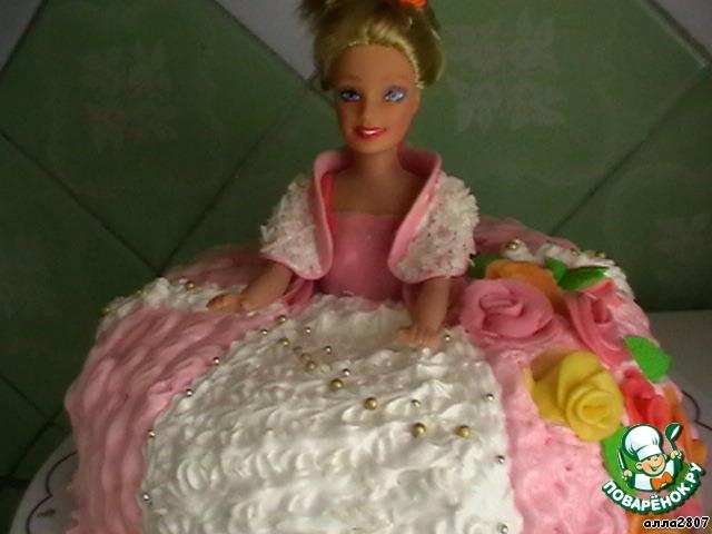 торт кукла рецепт с фото