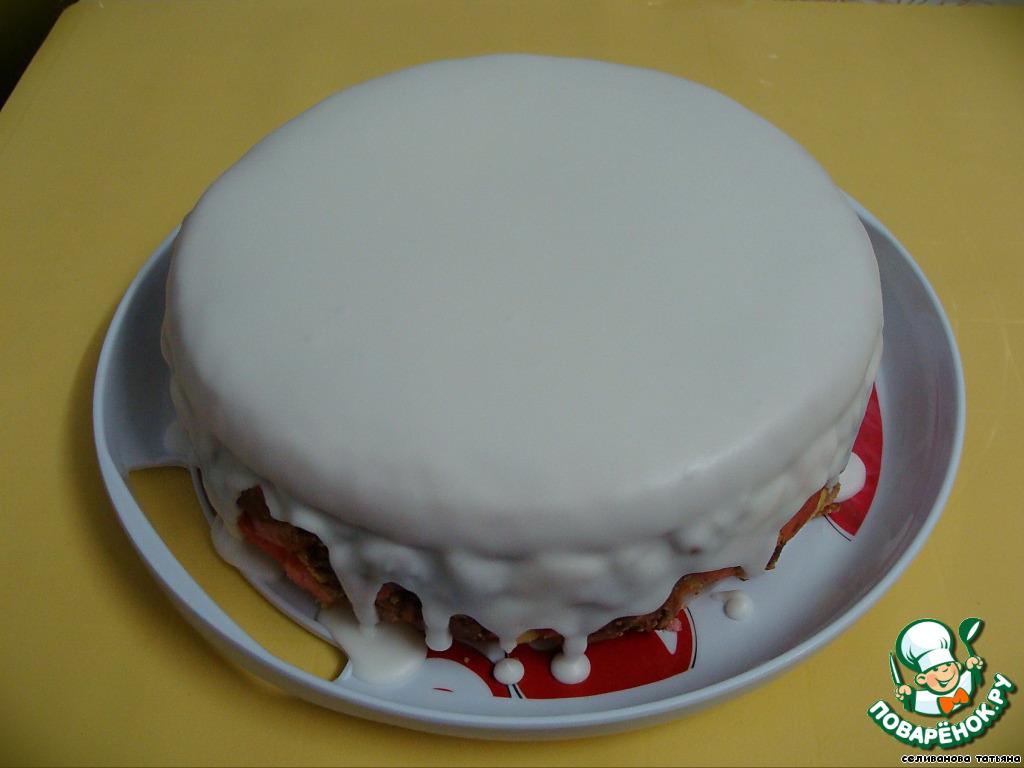 Белая глазурь для тортов в домашних условиях