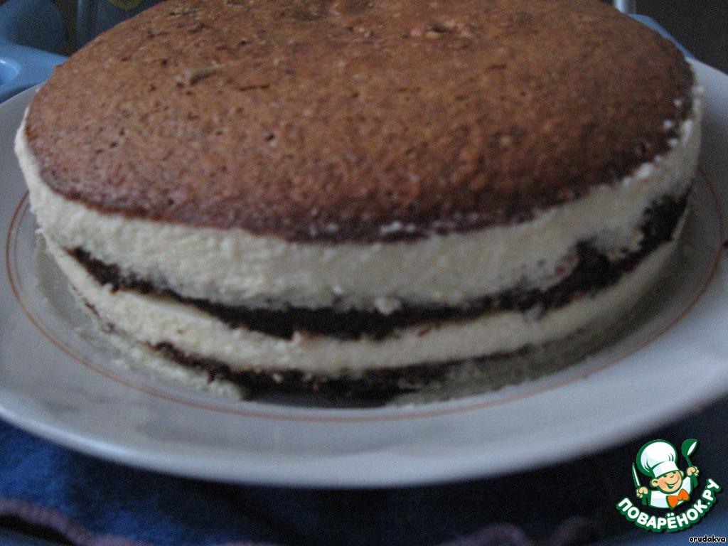 Торт ореховый с пошаговым